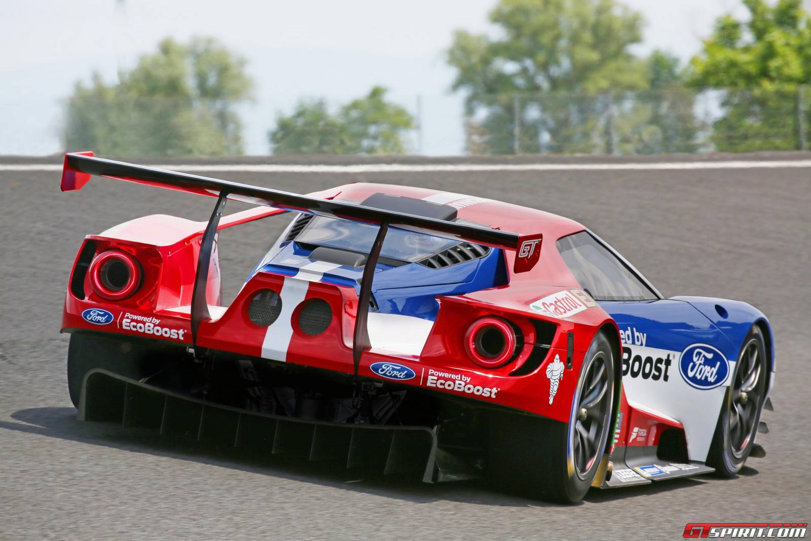 Ford Gt Gte Debuting At  Hours Of Daytona