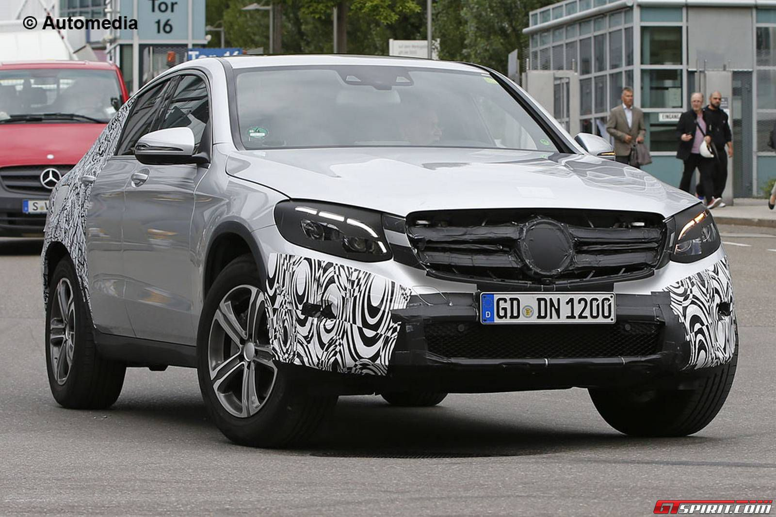 mercedes benz glc coupe debuting next year - 2016 Mercedes Glc Coupe
