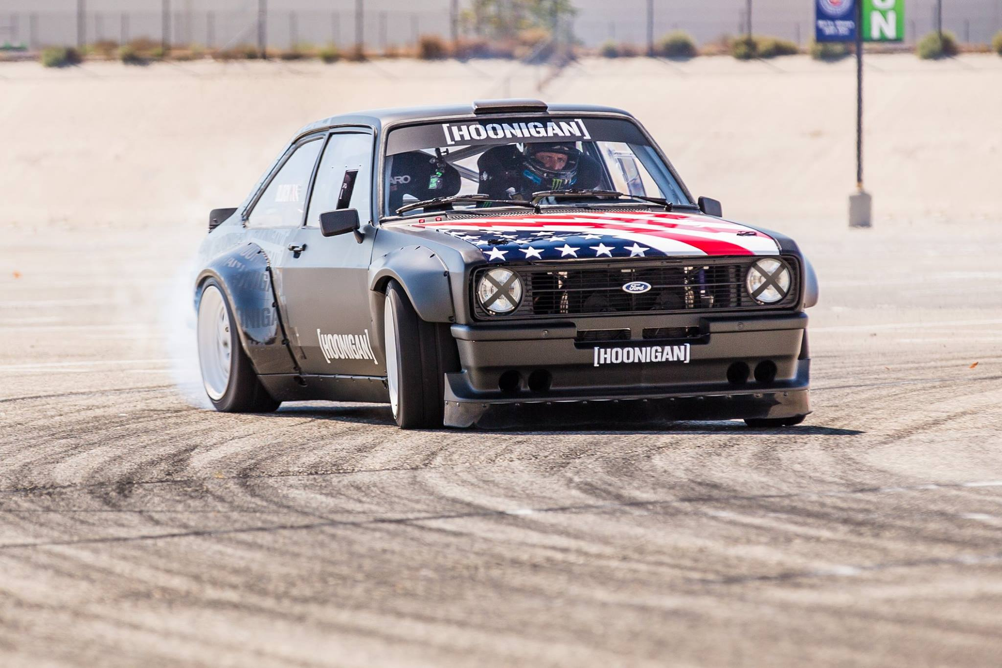 Ken Block Reveals New Gymkhana Ford Escort RS - GTspirit