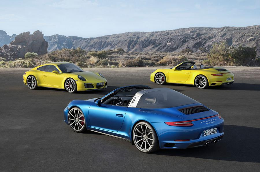 Official 2016 Porsche 911 Carrera 4 And Targa 4 Gtspirit