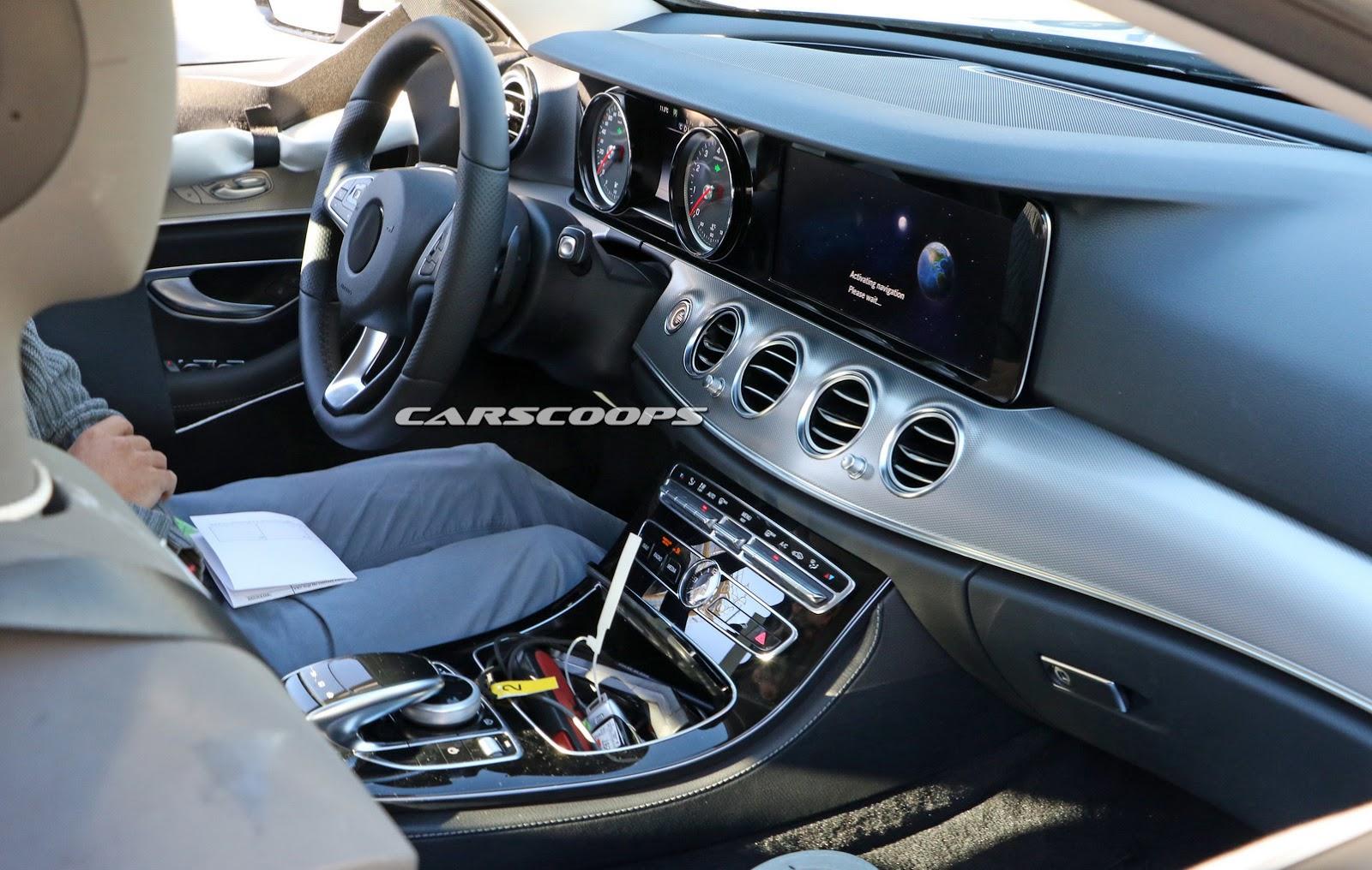 Next Gen Mercedes Benz E Class Shows S Class Inspired Interior