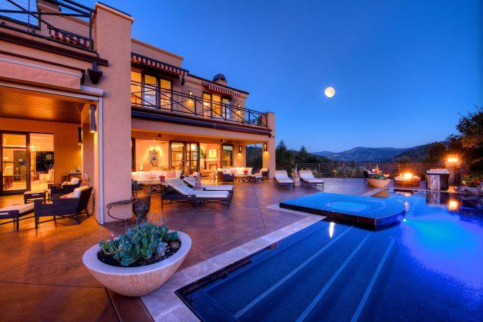 $28 million Napa mansion pool