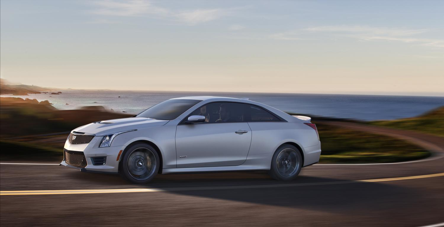official 2016 cadillac cts v ats v crystal white frost editions gtspirit. Black Bedroom Furniture Sets. Home Design Ideas