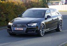 2018 Audi RS4 Test Mule