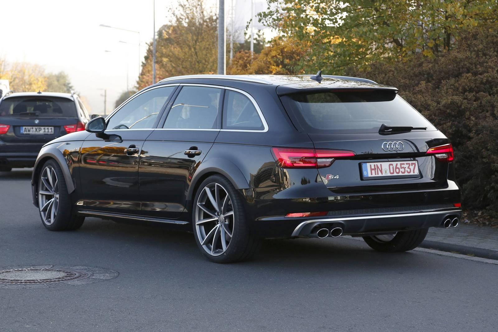 2018 Audi Rs4 Avant Test Mule Spy Shots Gtspirit