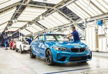 BMW M2 production factory