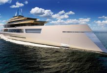 Bi-directional superyacht front