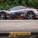 Ferrari 458 Spider rust wrap