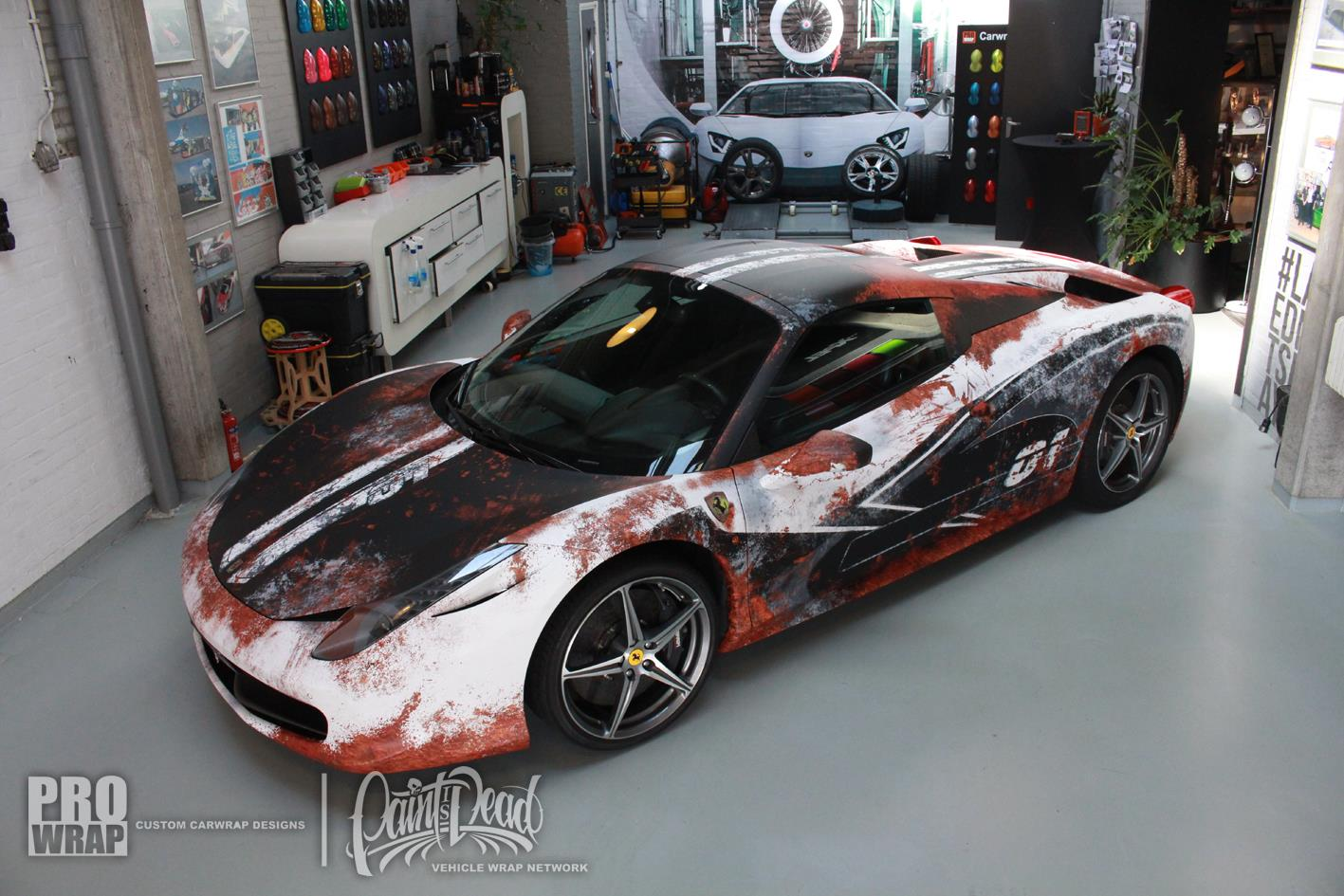 Auto Vinyl Wrap >> Paint is Dead: Ferrari 458 Spider Gets Rust Wrap! - GTspirit