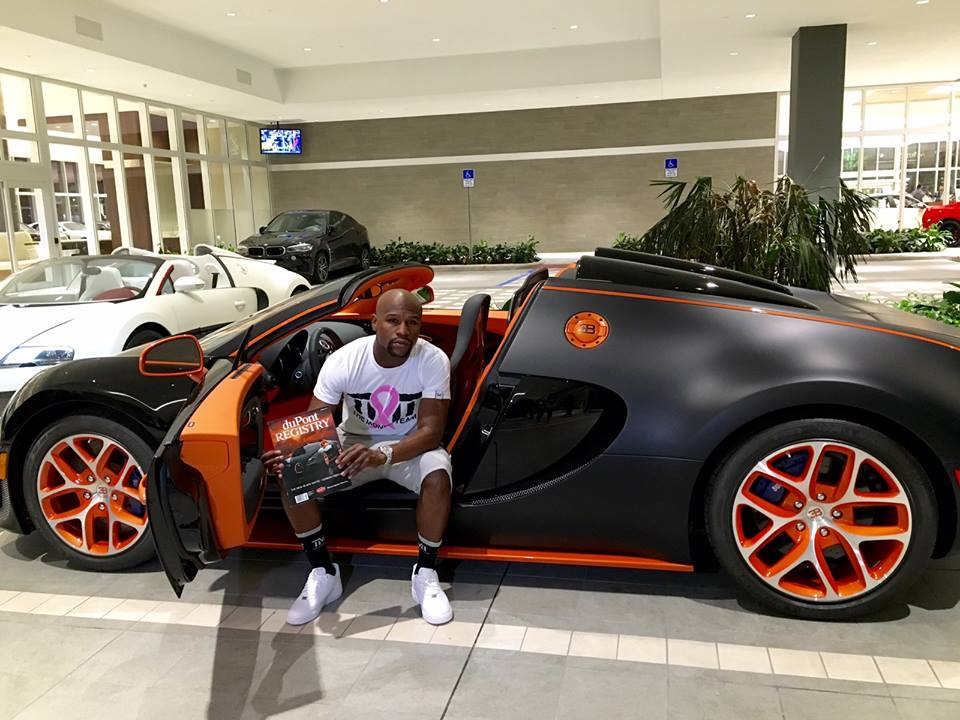 Floyd Mayweather Cars For Sale