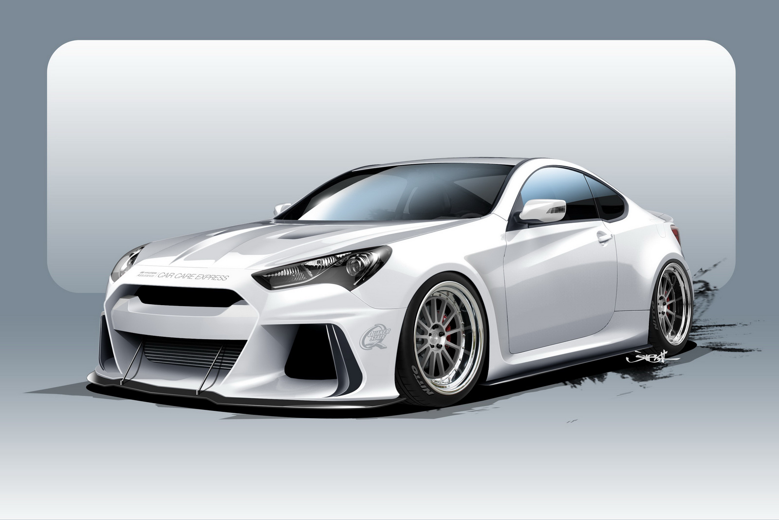 Wonderful SEMA ARK Performance Genesis Coupe