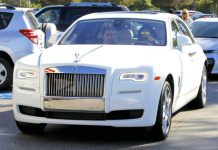 Kylie Jenner takes delivery of Rolls-Royce Ghost