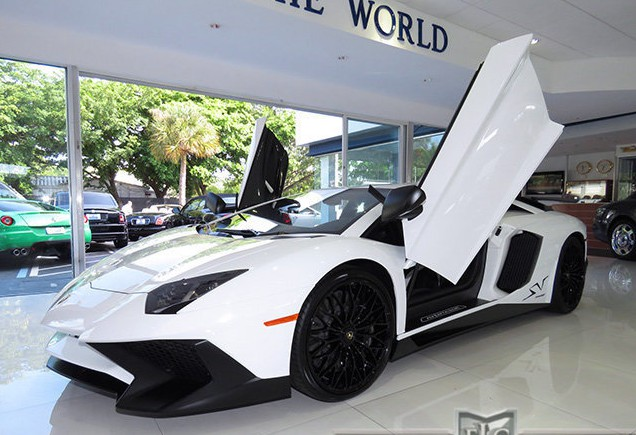 White Lamborghini Aventador Sv For Sale In The U S Gtspirit