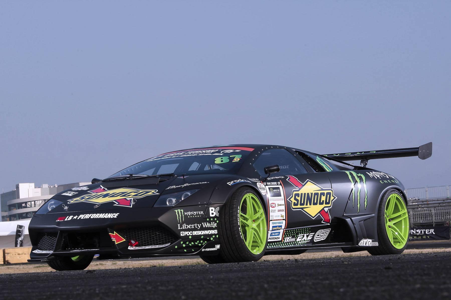 Meet The World S First Lamborghini Drift Car Gtspirit