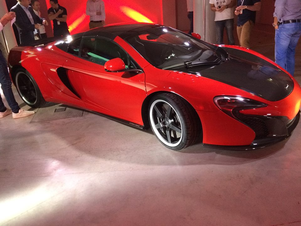McLaren 650S Can-Am Makes Live Debut in Portugal - GTspirit