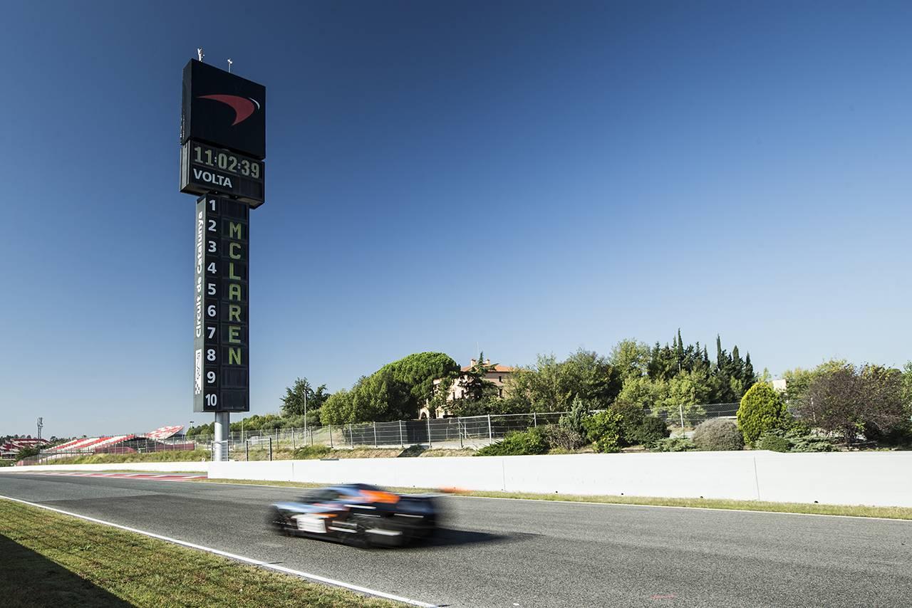 McLaren P1 GTR Driver Programme Kicks off in Barcelona