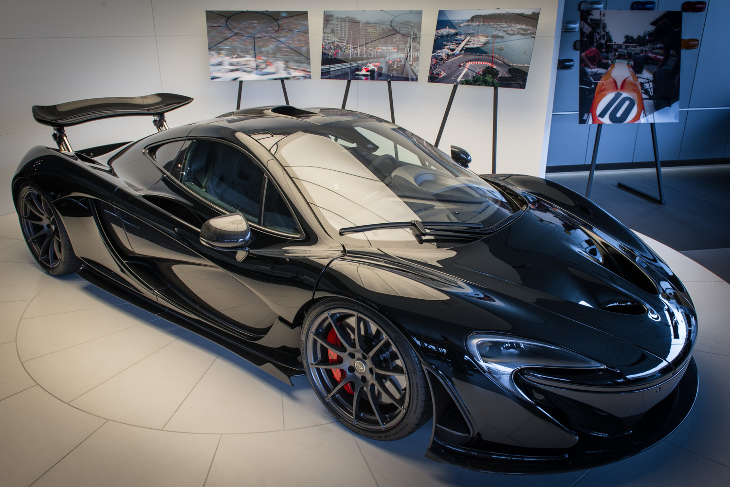 Gloss Black McLaren P1 For Sale in Germany - GTspirit