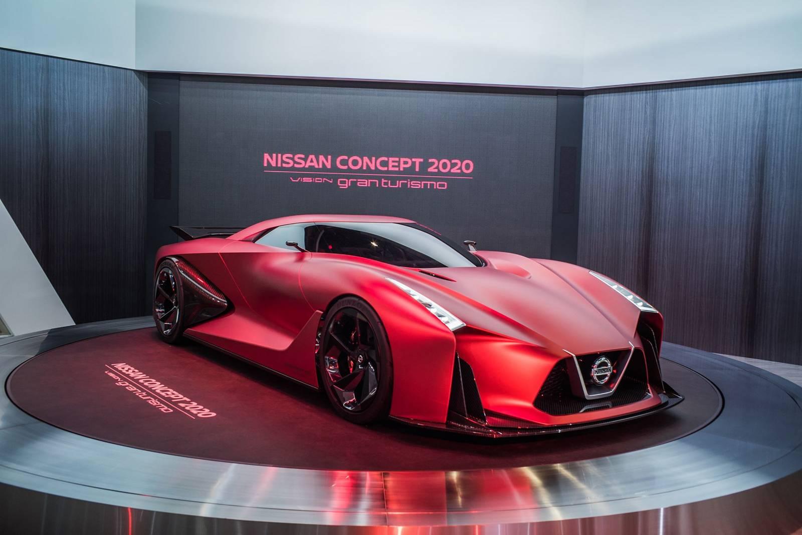 Tokyo 2015 Nissan Concept 2020 Vision Gran Turismo Gtspirit