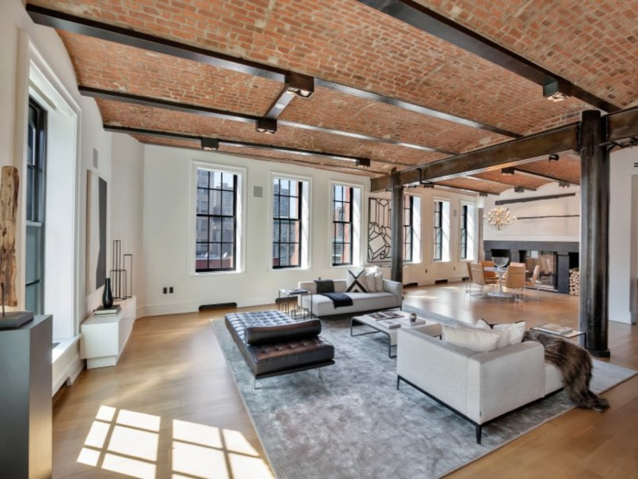 Impressive 18 million new york city loft for sale gtspirit for New york loft apartments