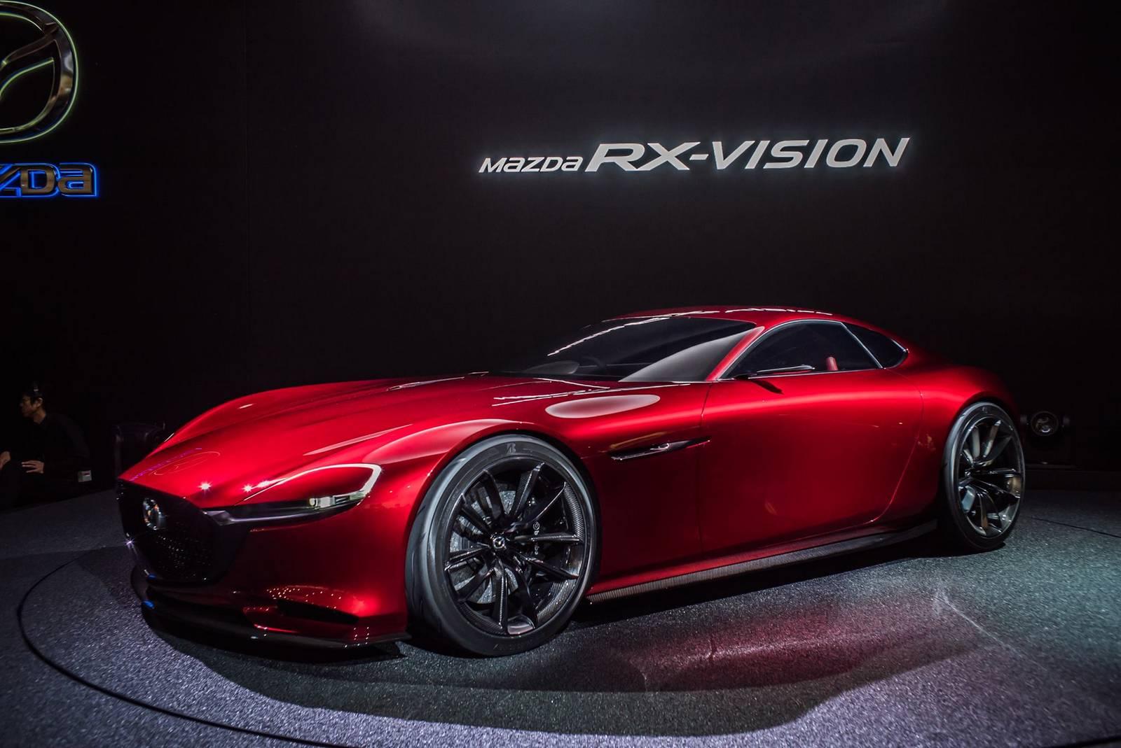 Tokyo Motor Show Mazda RX Vision