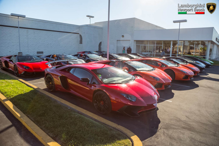 Lamborghini Newport Beach Hosts Exclusive Aventador Only Cruise