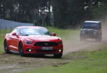 2015 Ford Mustang Stunt Car