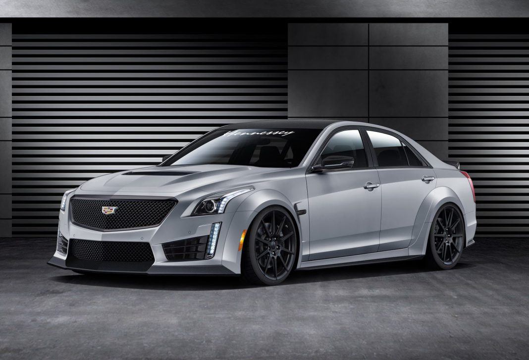 Hennessey Cadillac CTS-V front
