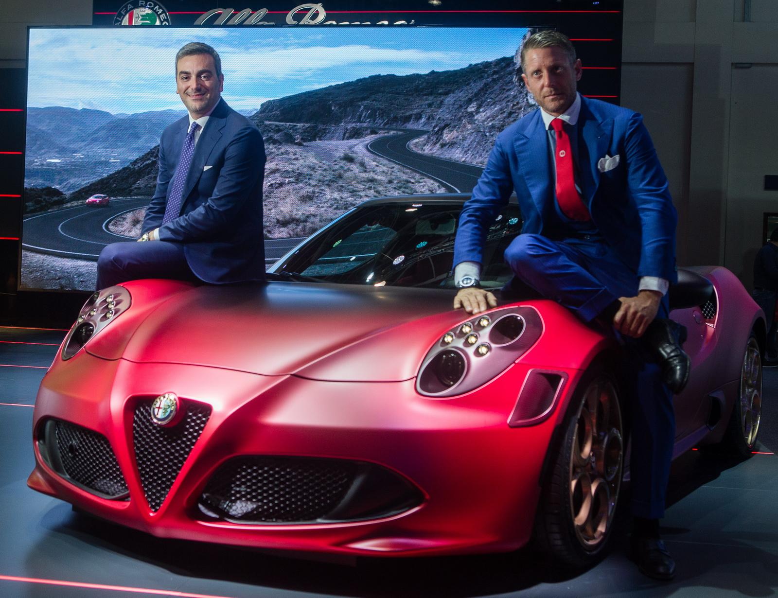 Alfa romeo shows off special edition 4c gtspirit for Garage alfa romeo 95
