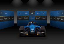 Aston Martin F1 car 2016 render