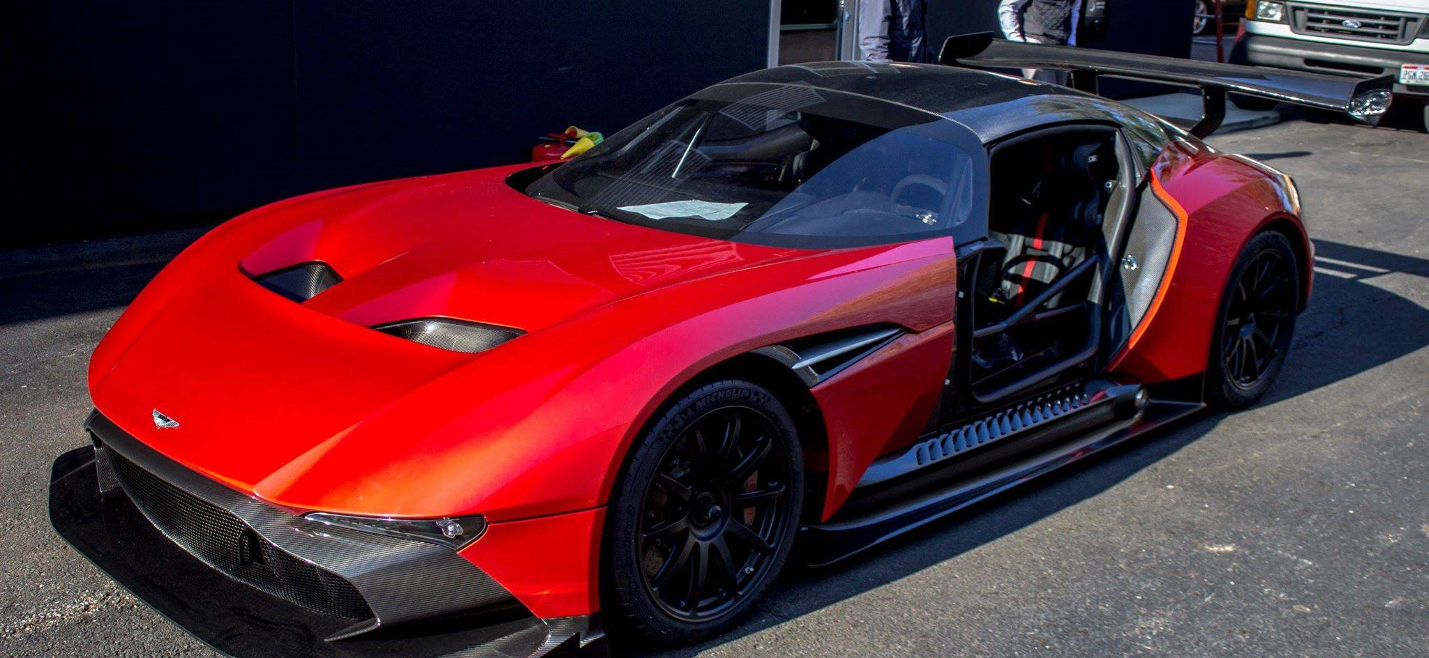 first aston martin vulcan arrives in the us - gtspirit