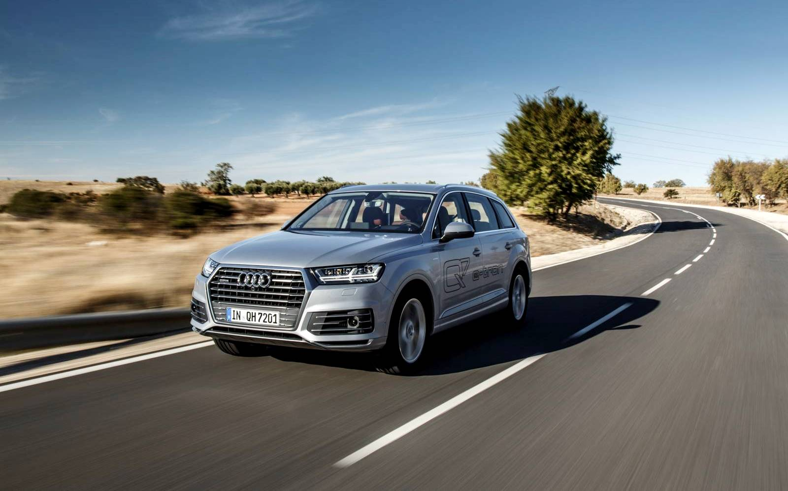 2016 audi q7 e tron quattro review gtspirit. Black Bedroom Furniture Sets. Home Design Ideas