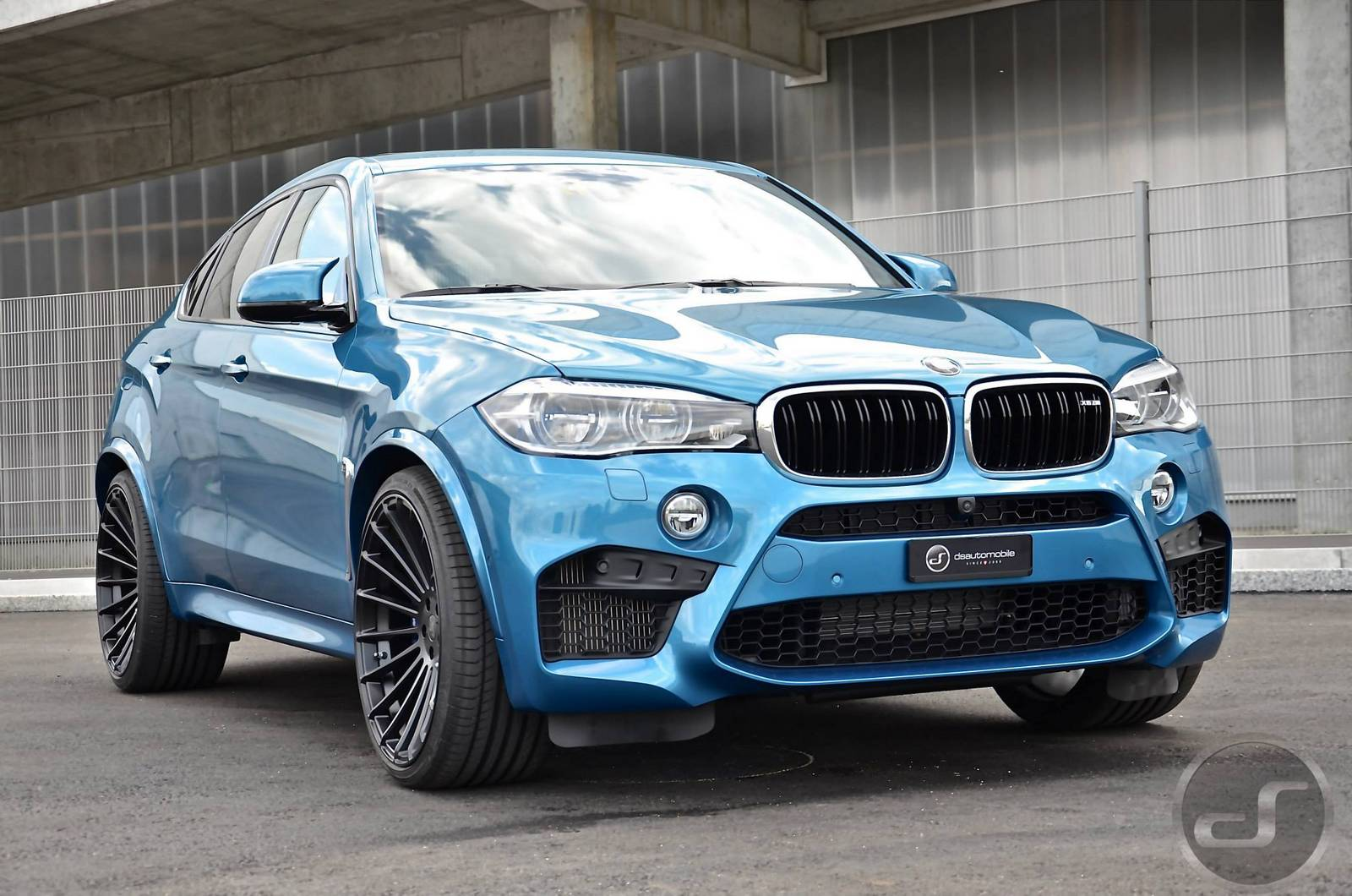 long beach blue hamann bmw x6 m by ds gtspirit. Black Bedroom Furniture Sets. Home Design Ideas