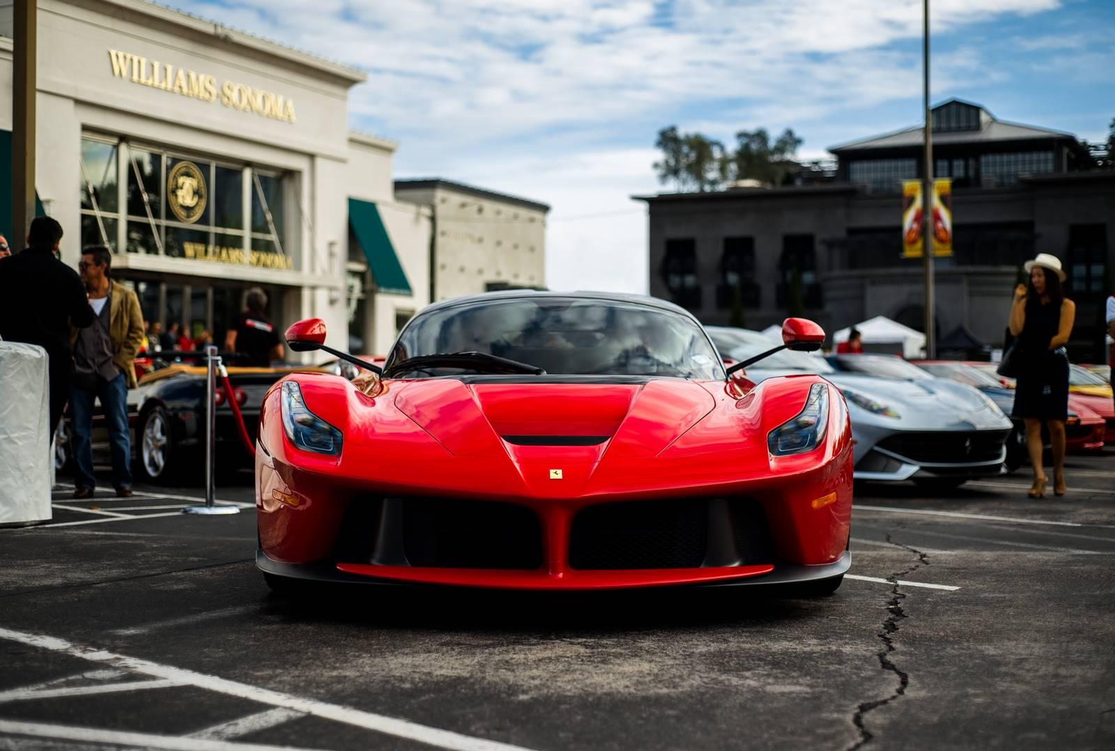 2015 Ferrari Festival in Houston Texas