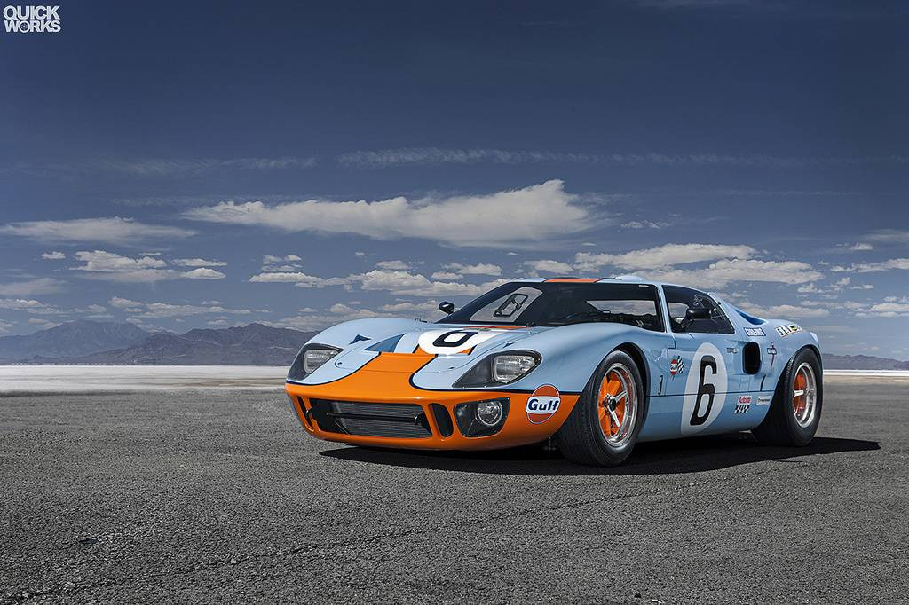 Race Cars For Sale >> Photo Of The Day: Stunning Gulf Ford GT40! - GTspirit