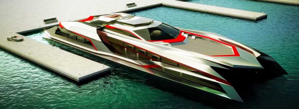 Hypercar Inspired Kraken Superyacht Is Mesmerisingly Aggressive