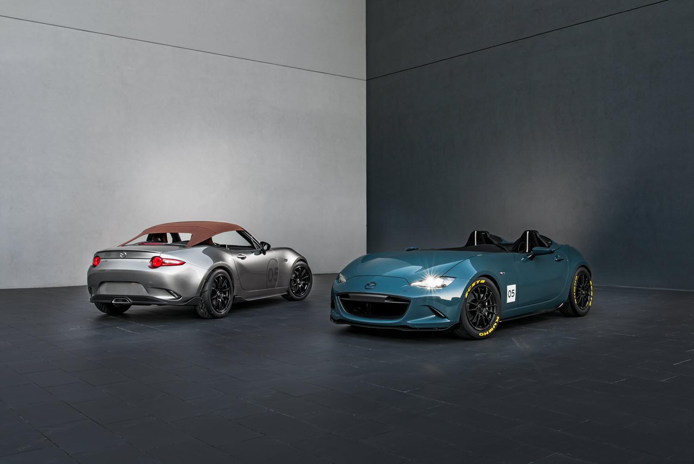 Official: Mazda MX-5 Spyder and Speedster Concepts - GTspirit