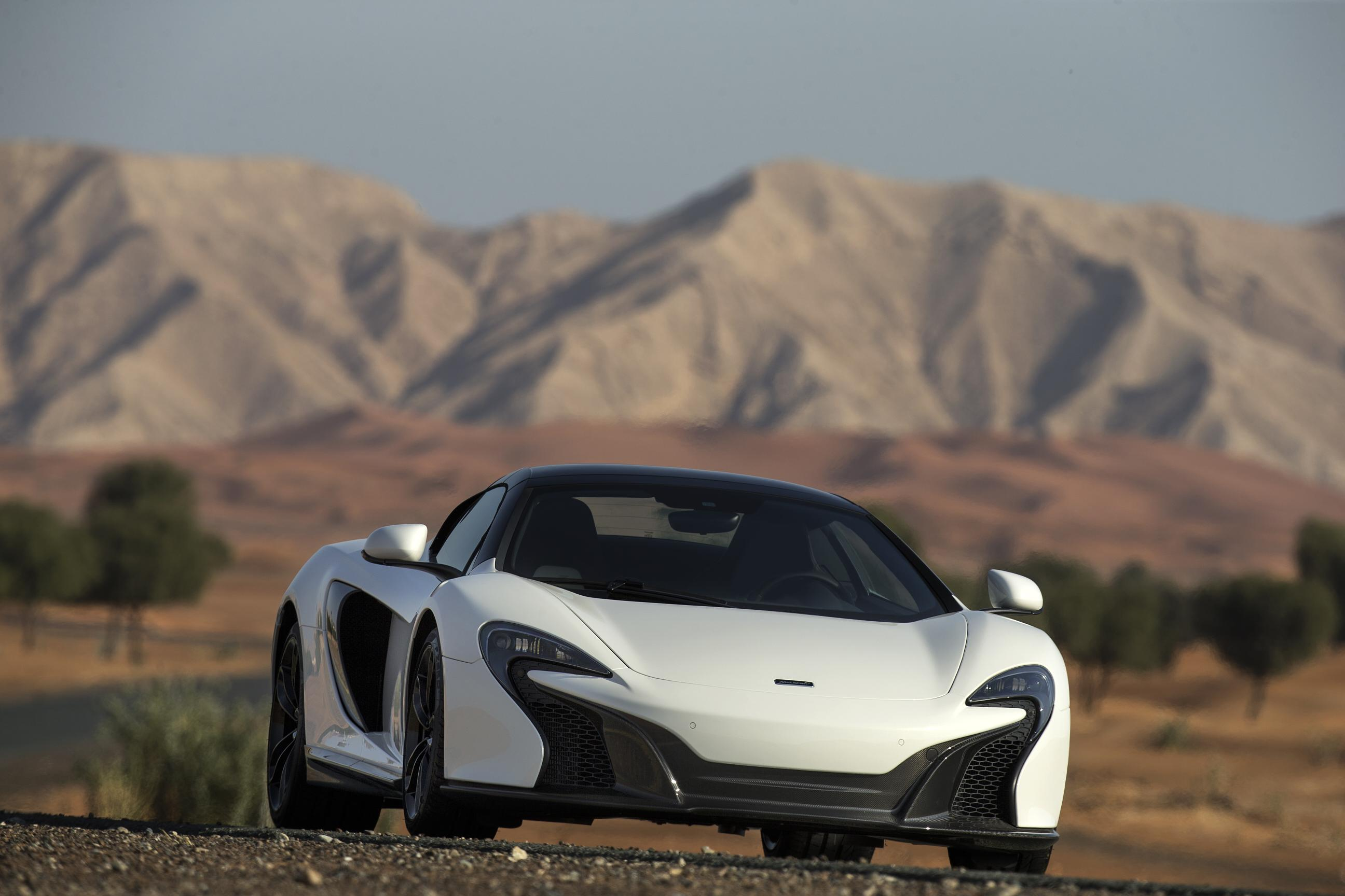 McLaren Made A Gold-Finished 650S Spider Just For The Middle East