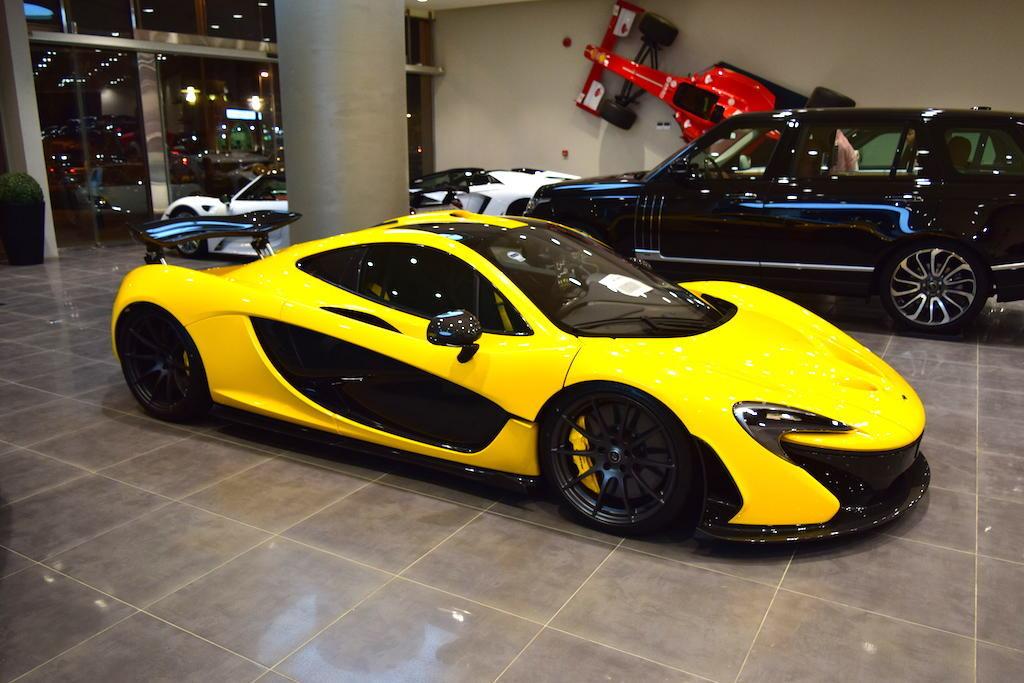 Unique Yellow McLaren P1 For Sale in Dubai - GTspirit