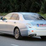 Mercedes-Benz E-class rear