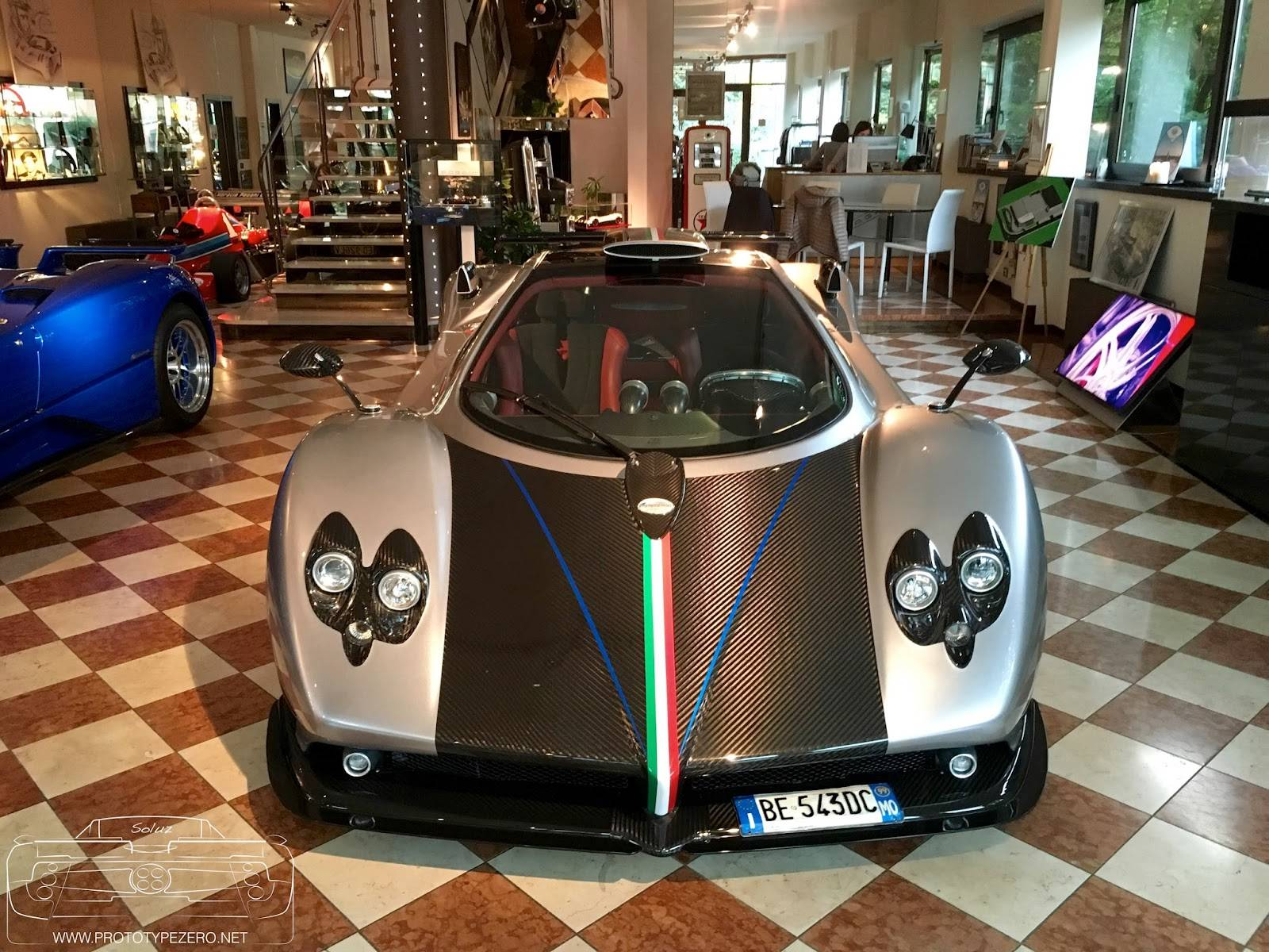 pagani zonda la nonna: a zonda with 1,000,000km on the odometer