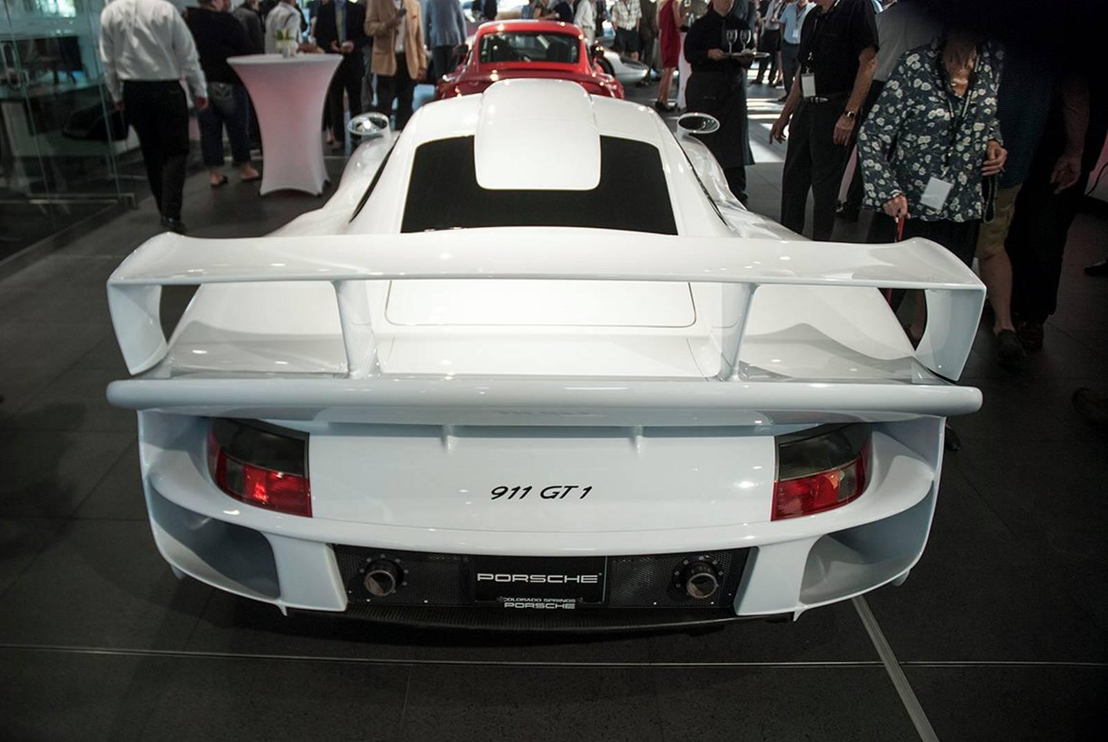 Porsche 911 Gt1 Stars At Porsche Of Colorado Springs Grand