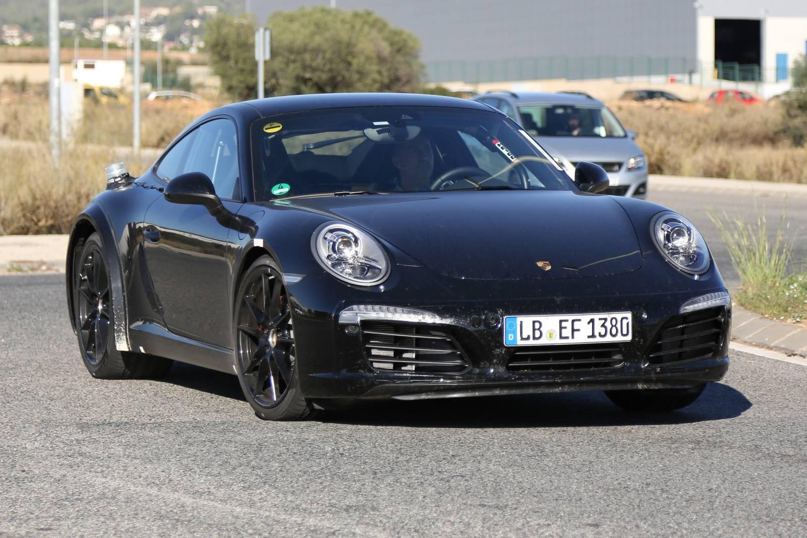 2018 Porsche 911 First Spy Shots Gtspirit