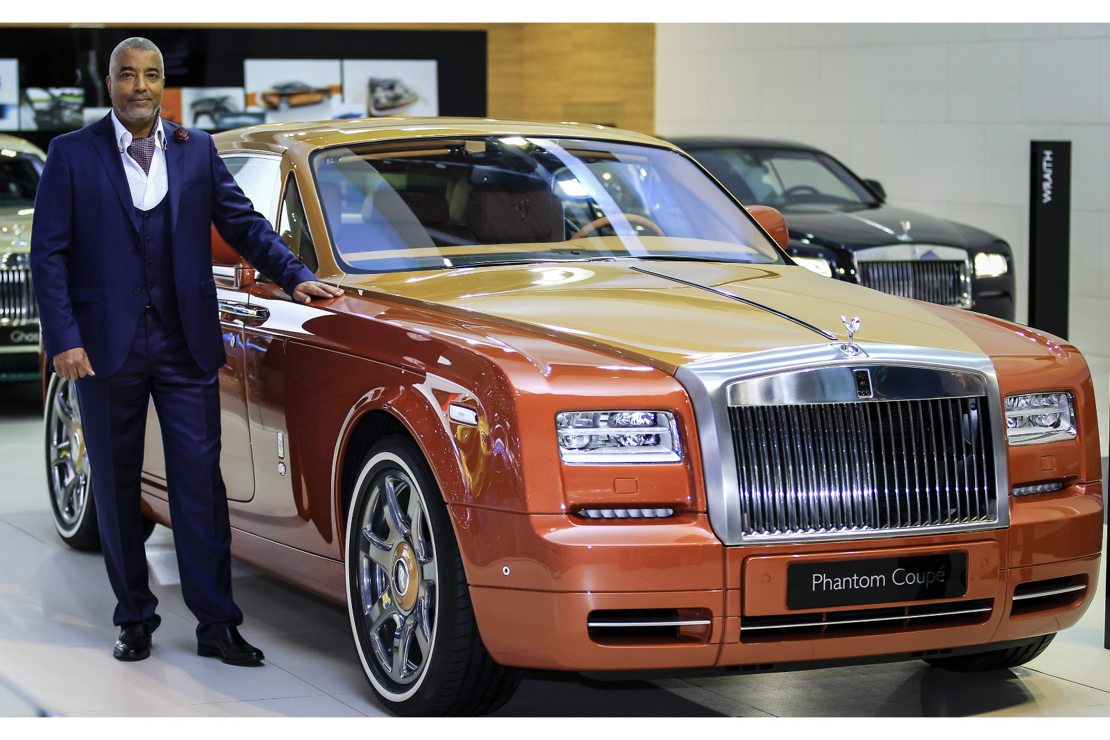Official 2016 Rolls Royce Phantom Coupe Tiger And Ghost