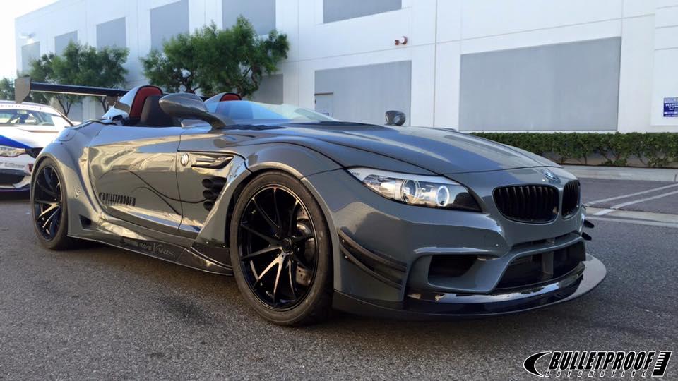 Bulletproof Automotive's BMW Z4 One of SEMA's Craziest ...