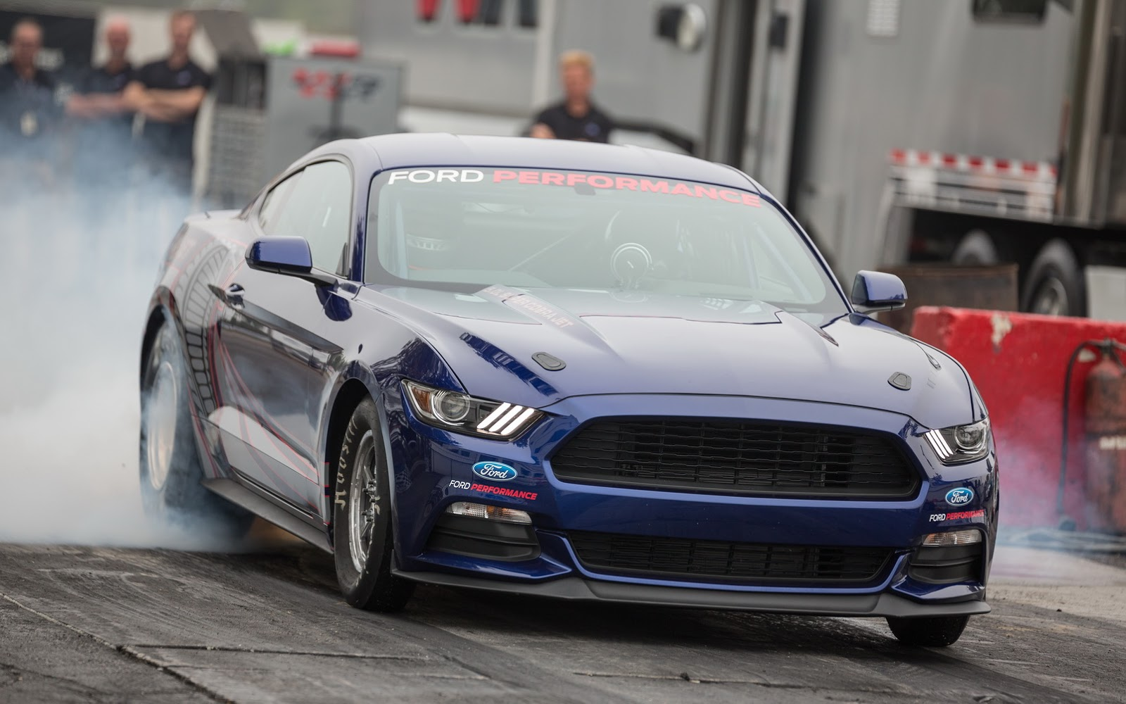 2016 ford mustang cobra jet front