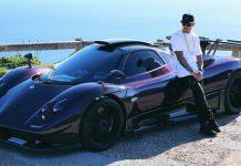 Lewis Hamilton crashes Pagani Zonda 760LH