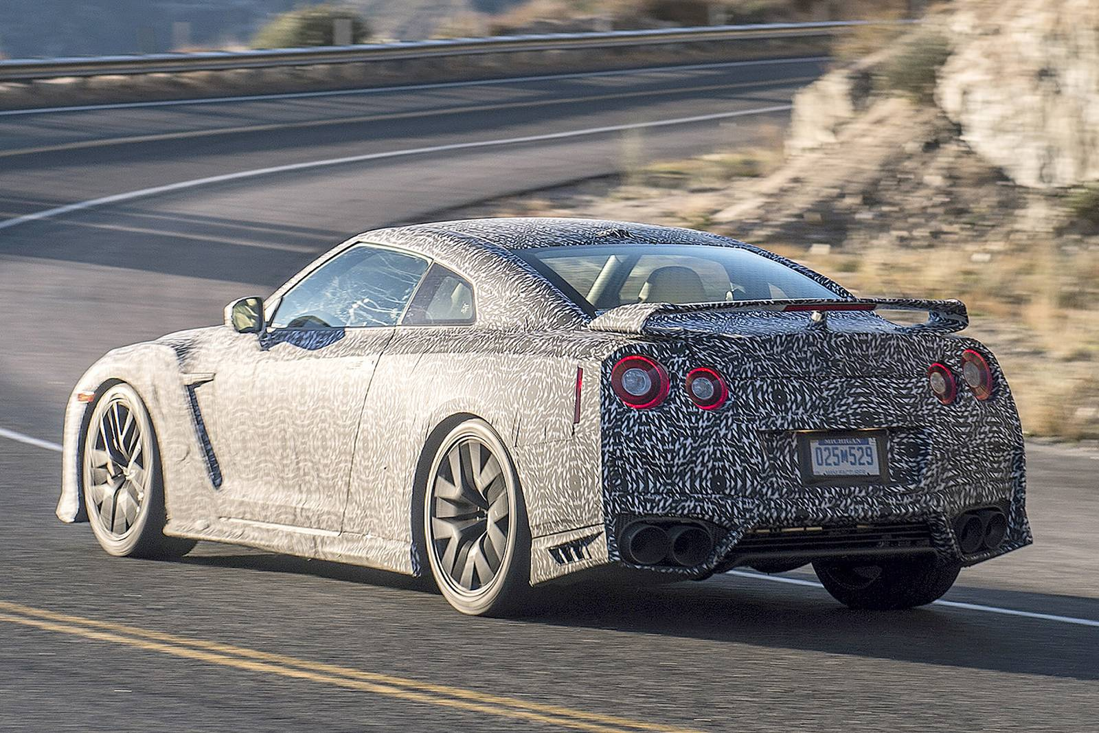 2017 Nissan GT-R First Spy Shots - GTspirit