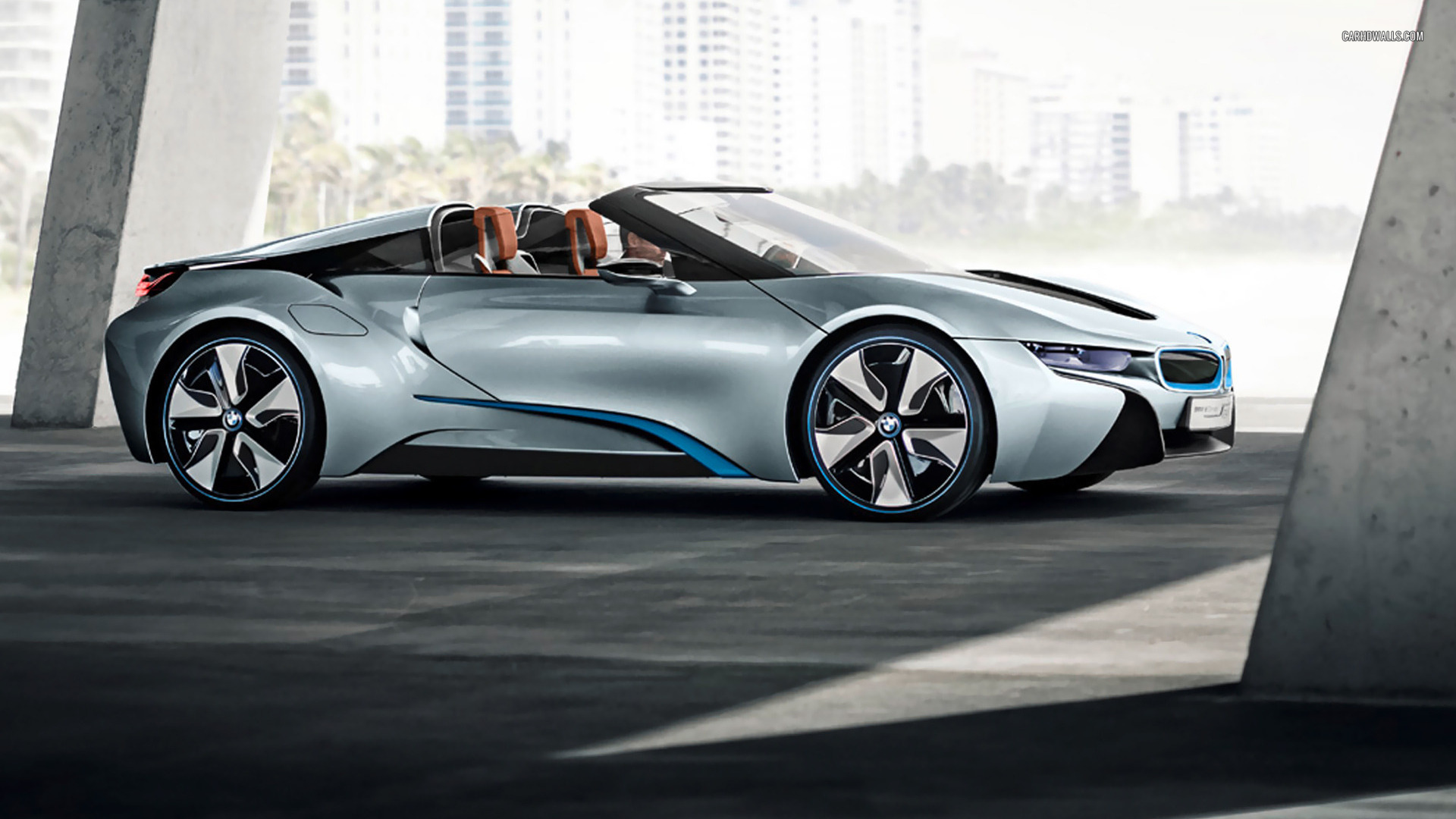 Bmw I8 Spyder Concept To Launch At Ces 2016 Gtspirit
