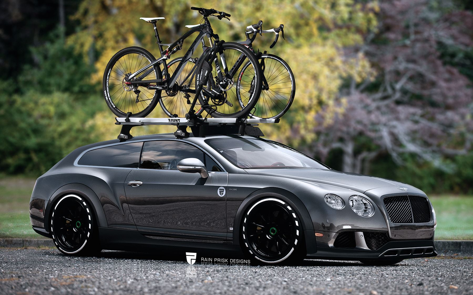 Bentley Continental GT Wagon Wildly Imagined - GTspirit