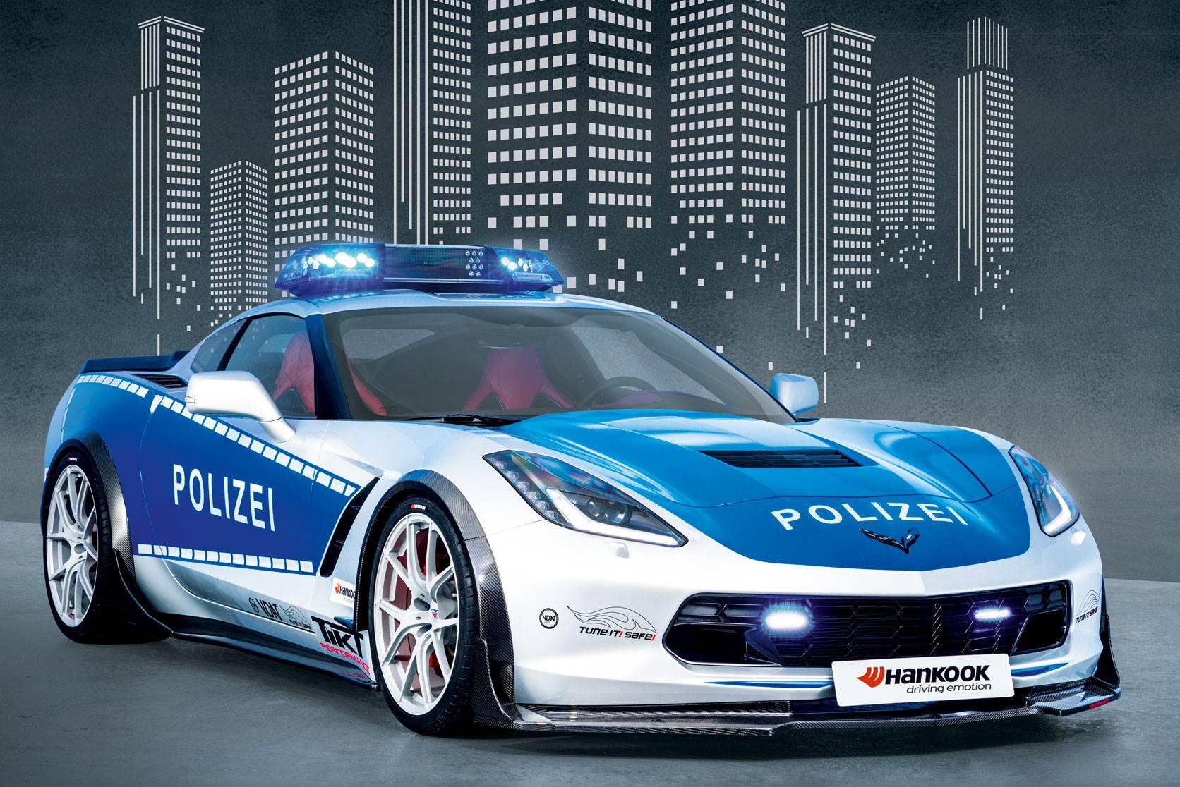 Tikt Performance Reveals Carbon Fiber Corvette Police Car